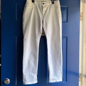 Simply vera white jeans